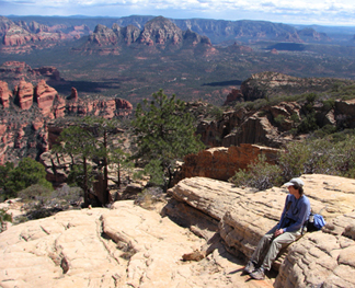 Sedona view--photo by Michael Baum