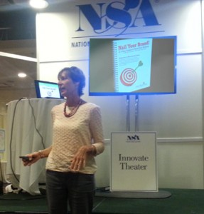 Patrice presents at NSA Convention in Philadelphia, 2013