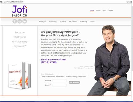 Jofi Baldrich website
