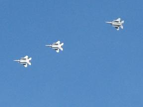 Thunderbirds--photo by Patrice Rhoades-Baum