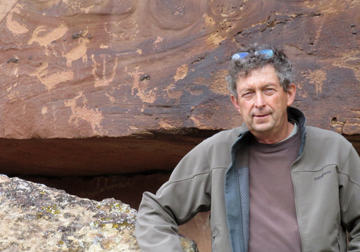 Petroglyphs & Michael Baum